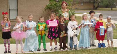 Favorite Book Character Parade